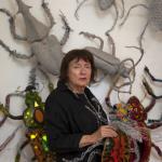 Sculptor Joan Danziger